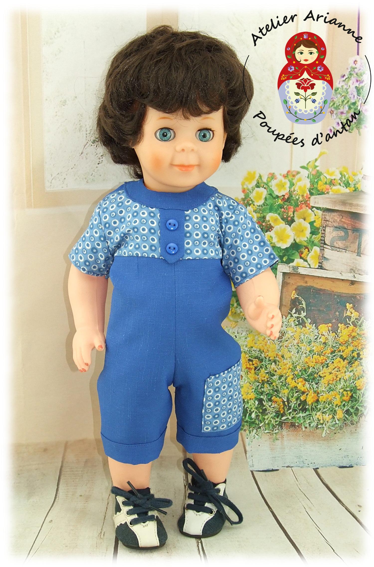 Tenue pour poupée Jean-Michel Juin 1971