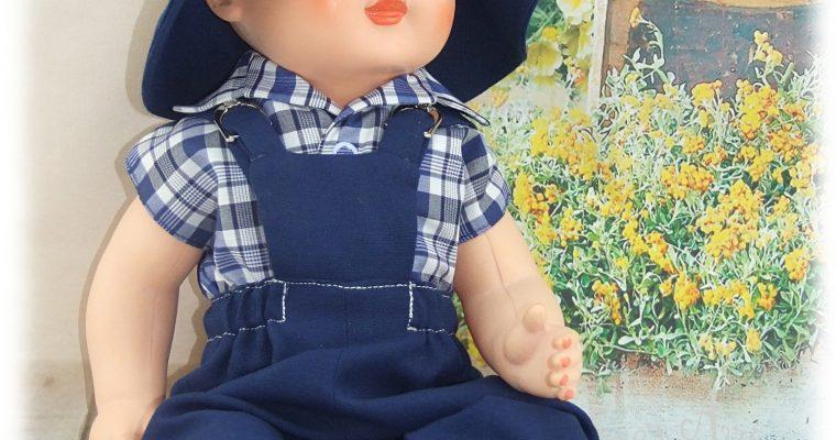 Tenue pour poupée Michel de Modes et Travaux Mai 1959