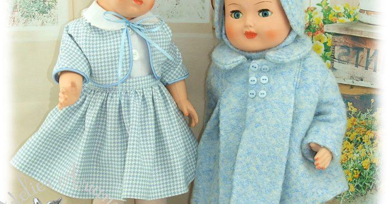 Tenue pour poupée Françoise , Francette, Marie-Françoise de Modes et Travaux