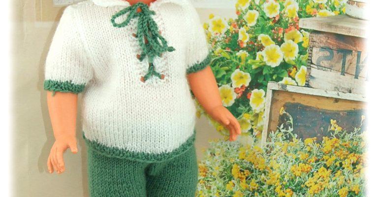 Tenue pour poupée Marie-Françoise Modes et Travaux Mai 1977