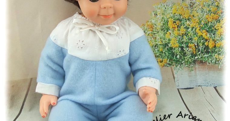 Tenue Octobre 1971 pour poupées Modes et Travaux Michel