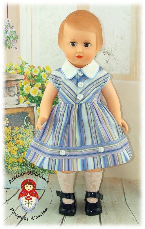 Juin 1957 Tenue pour poupée Françoise de Modes et Travaux
