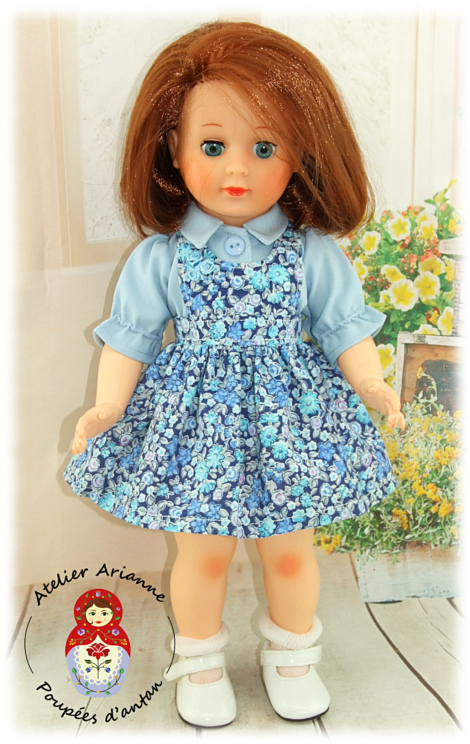 Lily -Tenue pour poupée Marie-Françoise de Modes et Travaux
