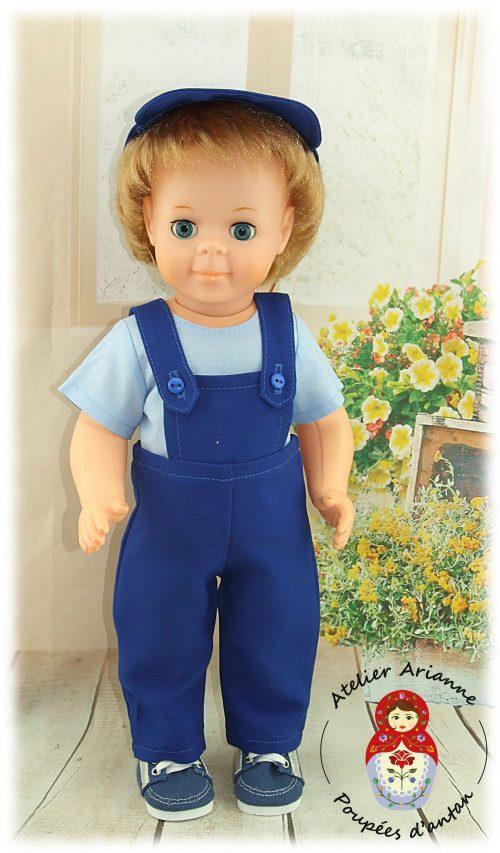 Tenue pour poupée Jean-Michel Modes et Travaux Mai 1980