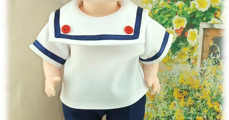 Tenue MARTIN  pour poupée Patsy ou Skippy de 36 cm