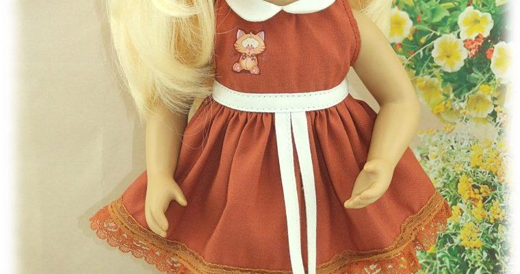 Mya – Tenue pour poupée Minouche