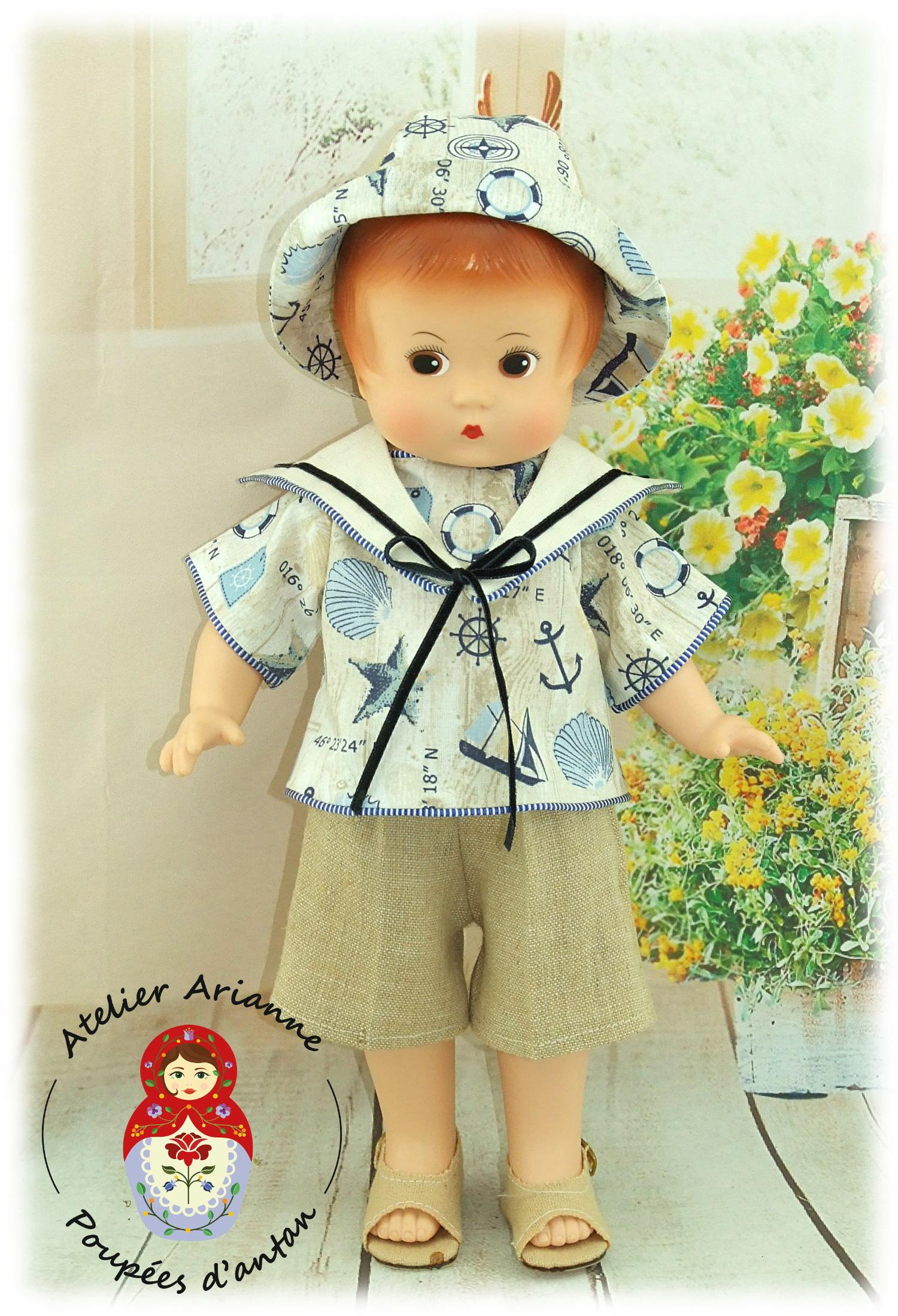 VICTOR – Tenue pour les poupées Patsy et Skippy de 33cm