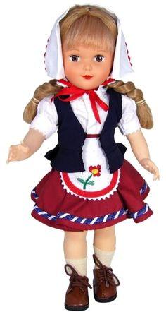 """""""Hans et Gretel"""" tenue d'origine pour poupée Francette - Petitcollin"""