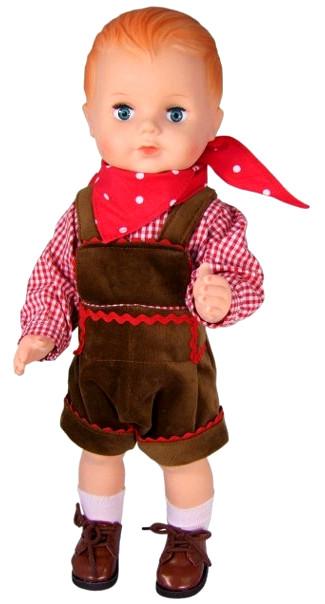 """""""Hans et Gretel"""" tenue d'origine pour poupon Petitcollin 40 cm"""