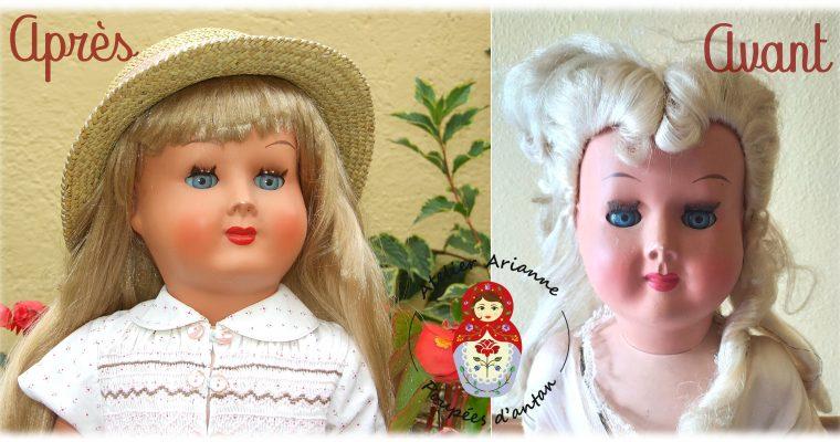 Clinique des poupées – UNE DEUXIÈME JEUNESSE POUR UNE BELLE POUPÉE