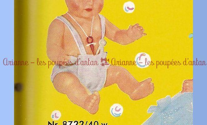 PUMMELCHEN – BAIGNEUR DU CATALOGUE SCHILDKRÖT DE 1959