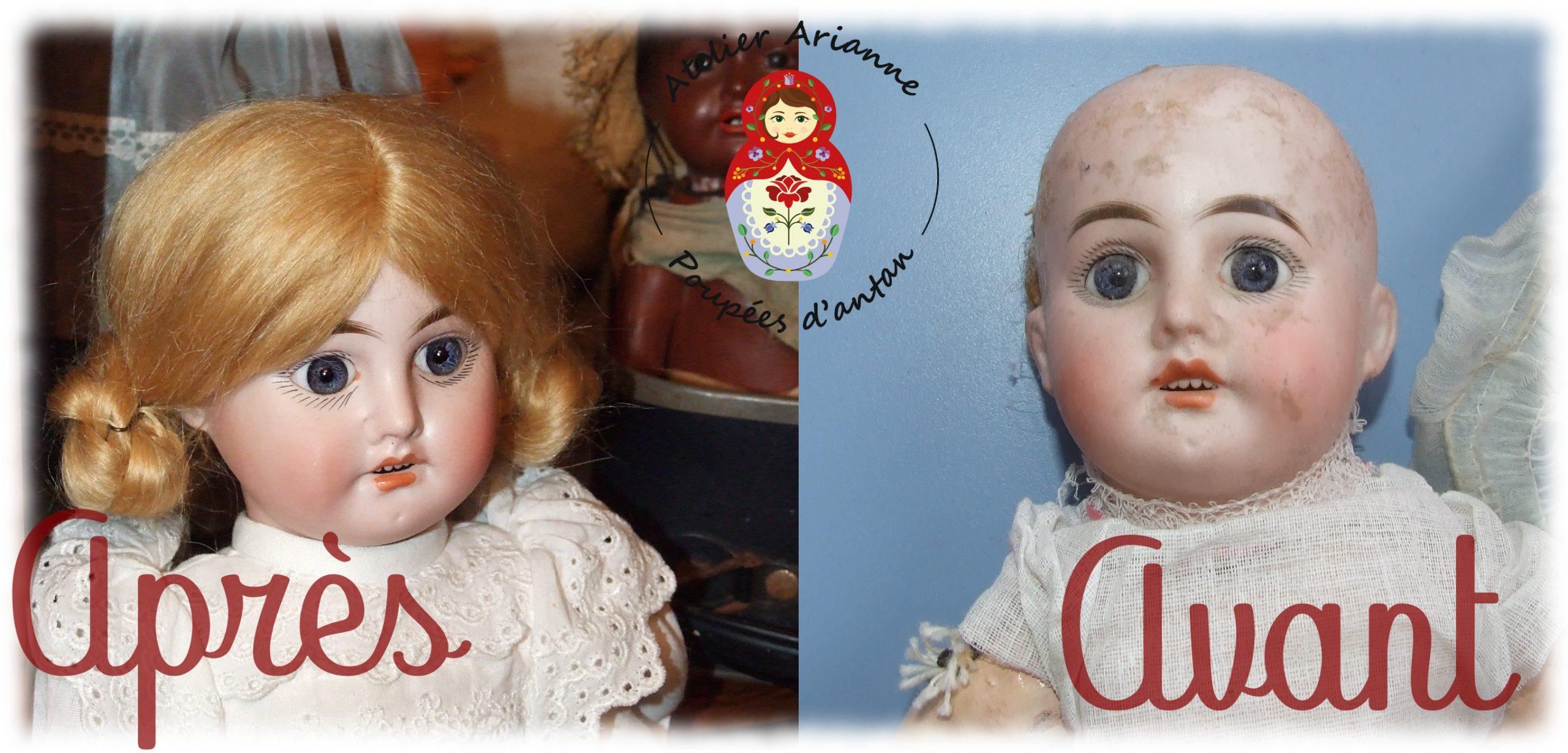 Clinique de poupées  – Restauration poupée Jumeau Nr. 1