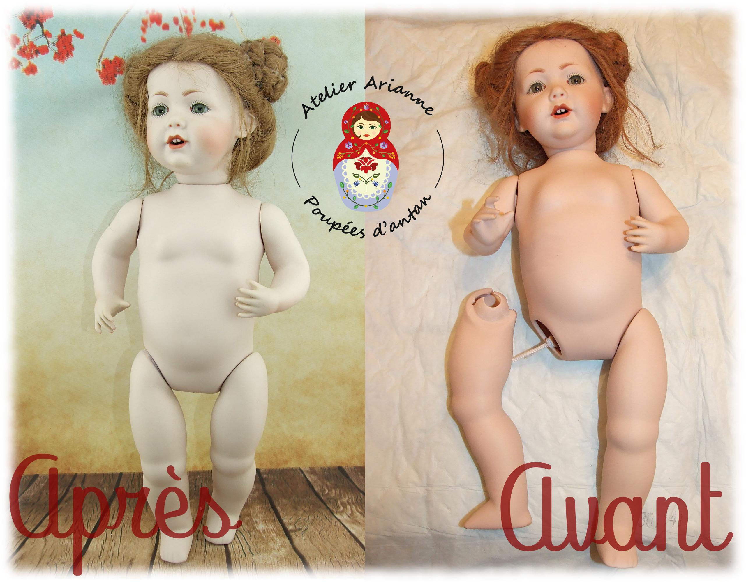 Clinique des poupées – restauration de poupée en porcelaine