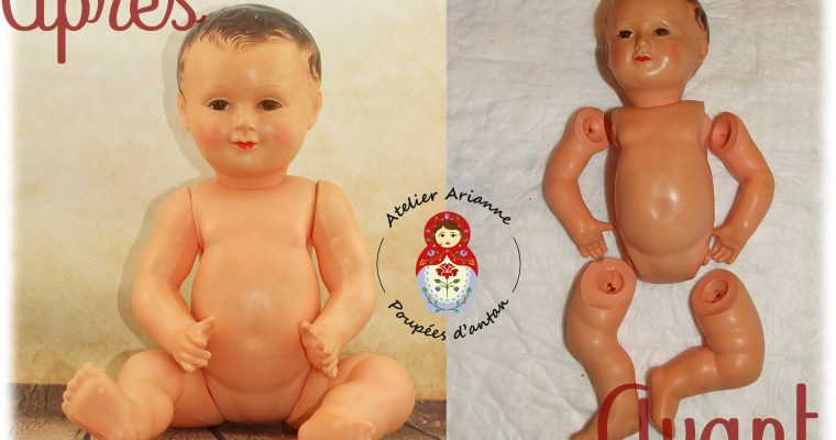 Clinique de poupées – Un bel Invincible