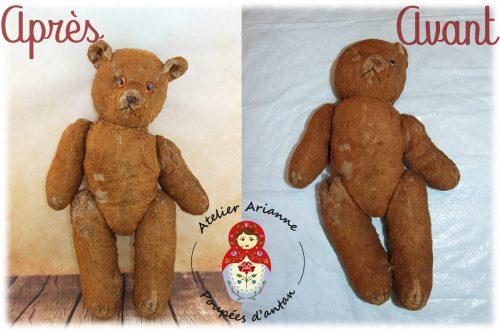 Clinique de poupées – un joli ours.