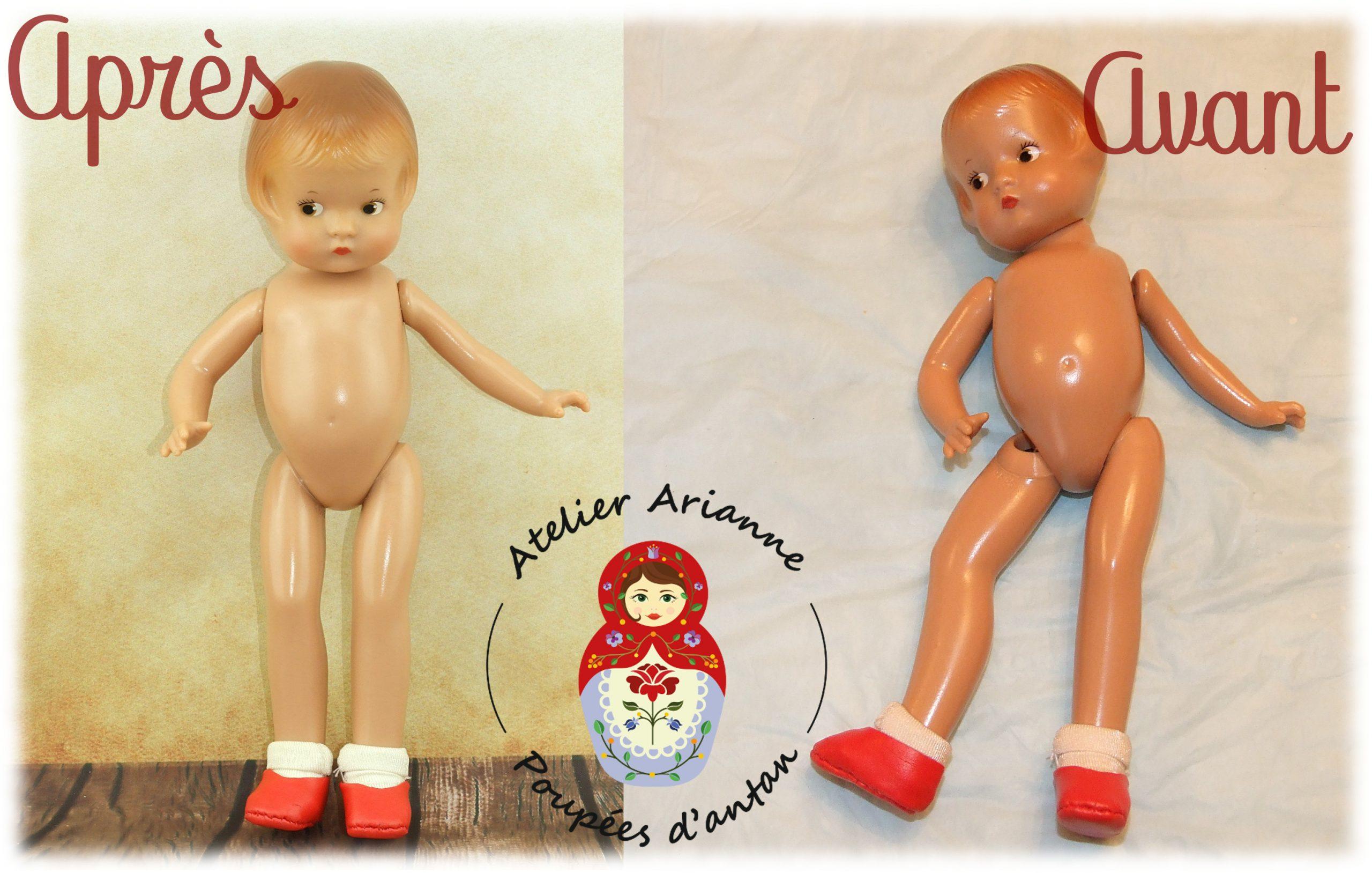 Clinique de poupées – une toute petite Patsyette