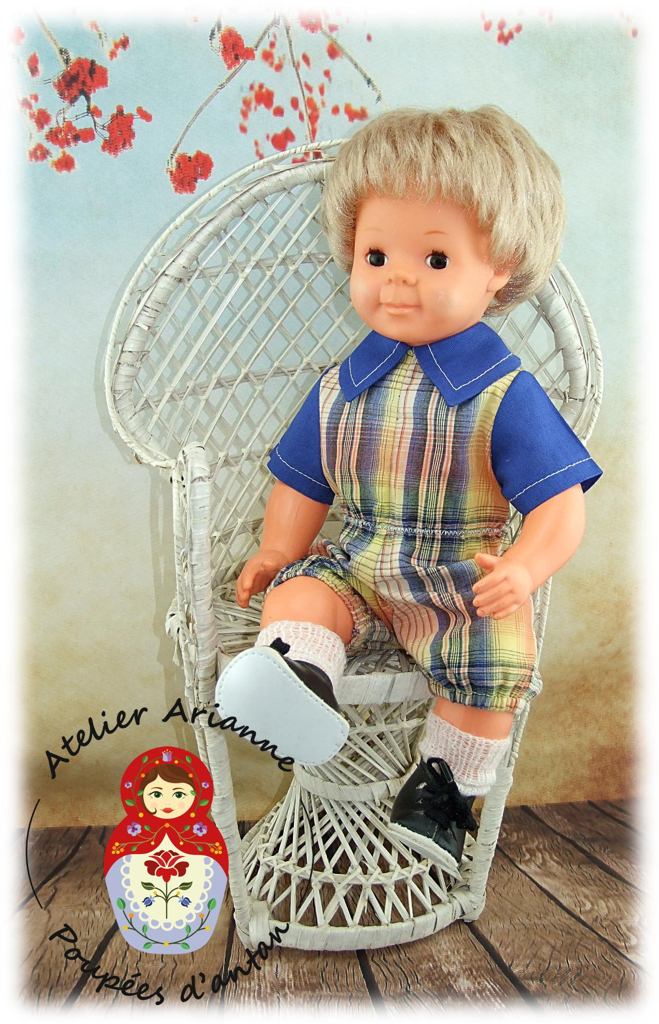 Tenue pour poupée Michel Modes et Travaux Mai 1973