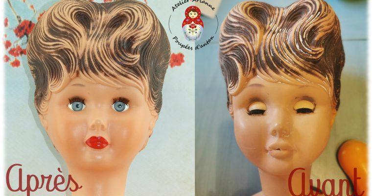 Clinique de poupées – la restauration d'une très grande poupée