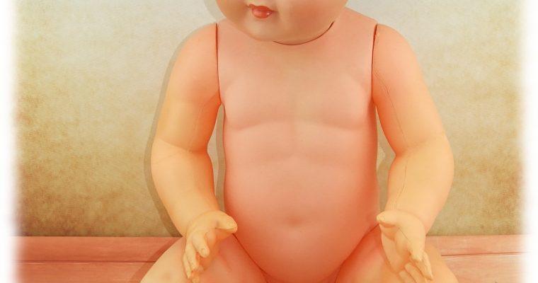 RESTAURATION D'UN BAIGNEUR BABY DE CONVERT